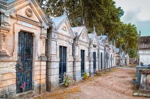 Jewish cemetery, France