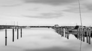 Almost empty marina